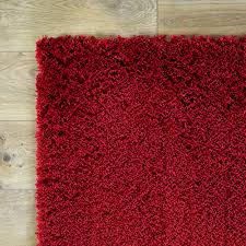 Modern Red Rug by Shaggy Red Rugs Roselawnlutheran