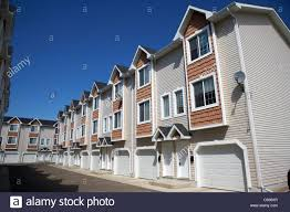 Starter Homes by Row Of Townhouses Starter Homes On Managed Property Saskatoon