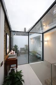 Glass Box House Structural Glass Wall Connecting To Glass Roof By Iq Glass