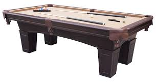 how much room around a pool table round designs