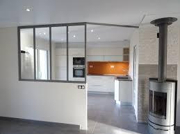 verriere interieur cuisine verrière intérieur séparation cuisine salon