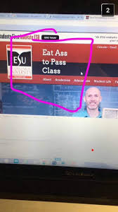 Community College Meme - at a local community college someone hacked into the schools