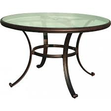 Glass Table Top For Patio Furniture 48 Inch Patio Table Replacement Glass Anok Cnxconsortium