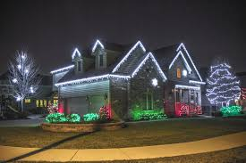 2015 cool white led light on roof line incandescent lights wrapped
