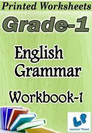 grade 1 english grammar workbook 1 printed book interactive