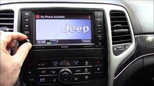 how to connect phone to jeep grand pairing phone in 2012 jeep grand srt8 wk2 when locked out