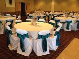 teal chair sashes ivory lace sashes white chair covers wedding ideas