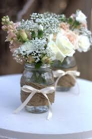 Mason Jar Vases Wedding Diy Mason Jar Vases Diy Ideas Pinterest Twine Wraps And