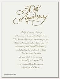 50th wedding anniversary program 50th wedding anniversary announcement wording anniversary party