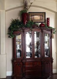 how to decorate your china cabinet decorating top of china cabinet china cabinet decoration