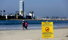 Map Of Los Angeles Area Beaches by Sewage Spill In L A Grows To 2 4 Million Gallons Prompting Bans