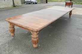 Oak Dining Table Uk Antique Furniture Warehouse 15ft Antique Oak Dining Table 5