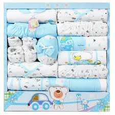 gift sets 15pcs set high quality 100 cotton newborn baby clothing gift