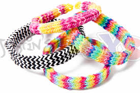 looms bracelet instructions images Flexafish flat hexafish rainbow loom bracelet tutorial on one jpg