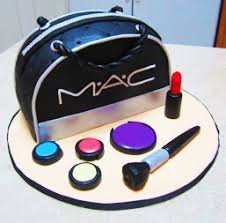 mac makeup bag cake by ladyviola
