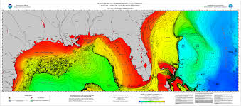 Map Caribbean Sea by International Bathymetric Chart Of The Caribbean Sea And The Gulf