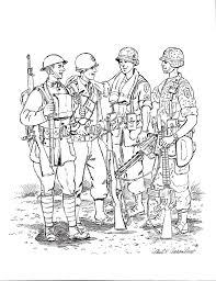 soldier coloring pages coloringsuite com
