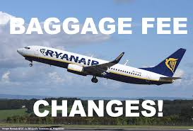 carry on fee ryanair eliminates second carry on bag u0026 changes policy for