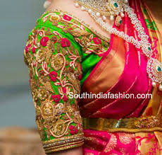 blouse designs maggam work blouse designs for pattu sarees south india