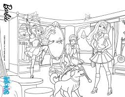 barbie colouring pages games funycoloring
