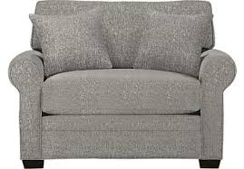 Gray Armchair Cindy Crawford Home Furniture Collection