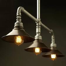 glass insulator light kit diy pipe chandelier younited co
