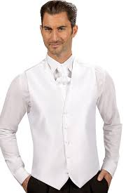gilet mariage gilet costume blanc homme de mariage
