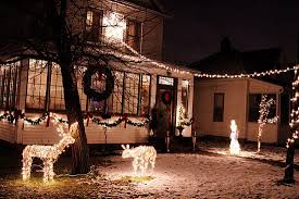 photos of homes decorated for christmas first city of lights bemidji jaycees