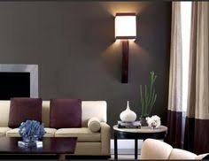 Brown And Grey Living Room Dark Gray Wall And Black Sofa And Deep Brown Wall Furniture In