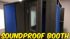 building the soundproof booth youtube