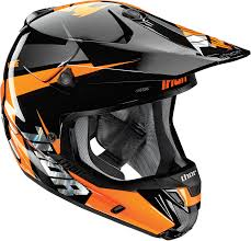 motocross helmets thor mx verge motocross helmet rebound black flo orange 1stmx co uk