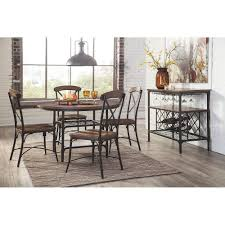 rolena round dining room table d405 15 signature design by ashley