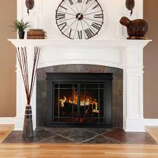 clean glass fireplace doors fireplace fireplace screens lowes fireplace doors lowes