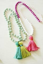 tassel necklace make images Back to school crafts diy tassel necklaces darling darleen a jpg