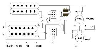 guitar wiring diagrams 2 pickups 1 volume wiring diagram and