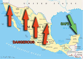 Mexican State Map by Travel Advisory For Mexico U2022 Playadelcarmen Org