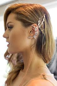 how to wear hair behind the ears isabelle cornish wearing amazing ryan storer ear piece the deep