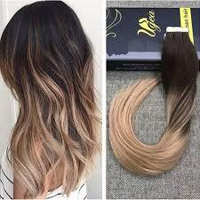 angel hair extensions cheap bargain angel locks brown ombre hair