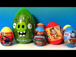 easter eggs surprises 30 easter eggs kinder peppa hellokitty angrybirds
