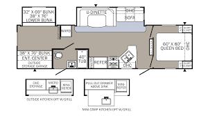 100 30 ft travel trailer floor plans rv thrills and frills