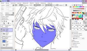 paint tool sai u201cdrawing in anime style u201d tutorial u2013 riialreirav