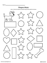 star shape maze printable worksheet star shape printable