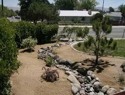 landscaping on a sloped front yard hillside image small sloped