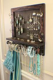 Jewellery Organiser Cabinet 23 Best Diy Jewelry Holder Ideas To Make Your Jewelry More Tidy