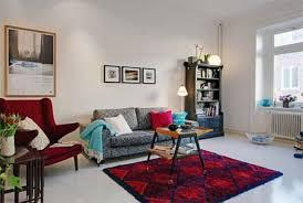 living room ideas small apartment decorative dark grey brick walls