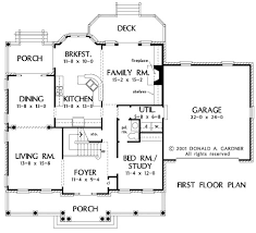 Don Gardner Floor Plans House Plan The Fayette By Donald A Gardner Architects