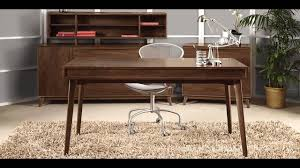 Wood Home Office Furniture Mid Century Modern Office Furniture