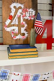 4th Of July Decoration Ideas 4th Of July Decorating Ideas From The Dollar Store Hunt And Host