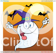 spooky clipart ghost hat outline clipart collection