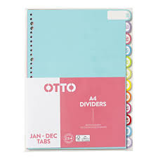 monthly tab dividers officeworks
